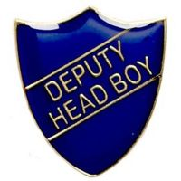 ShieldBadge Deputy Head Boy Blue</br>SB020B